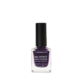 Korres GEL EFFECT NAIL COLOUR 75 Violet Garden 11ml