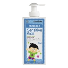 Product thumb sensitive kids shampoo boys