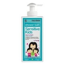 Product thumb sensitive kids shower gel