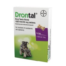 Product thumb drontal plus flavour tablets for dogs 1 per 10kg