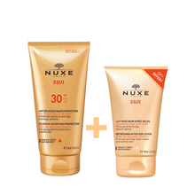 Product thumb nuxe sun spf30 lait set after sun