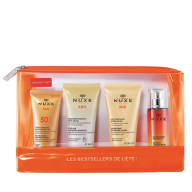 Nuxe Sun Summer Kit Melting Cream SPF50 30ml+ After Sun Shampoo 50ml+ After Sun Lotion 30ml+ Delicious Fragrant Water 30ml