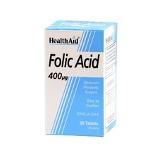 Product thumb health folic acid 400ug 90 tabs a