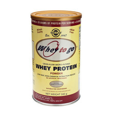 Product thumb solgar whey to go protein choc