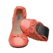 Product thumb scholl pocket ballerina coral