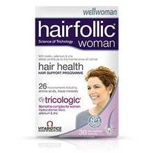 Product thumb hairfollic woman