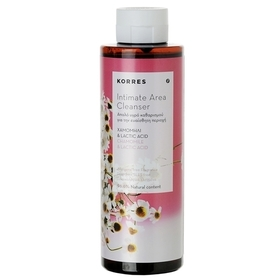 Korres Intimate Area Cleanser 250ml γυναίκα   ευαίσθητη περιοχή