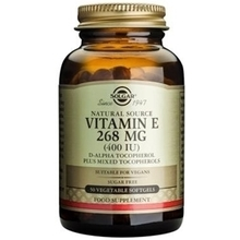 Product thumb solgar vitamin e 268 mg 400iu 50softgels
