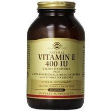 Product thumb solgar vitamin e 400iu 250softgels