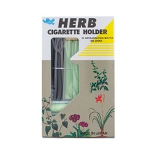 Product thumb herb cigarette holder