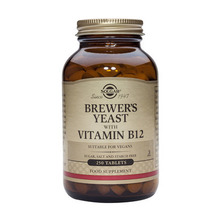 Product thumb solgar brewers yeast with vitamin b12 250 tablets