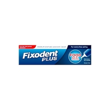Product thumb fixodent plus food seal denture cream 40g