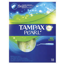 Product thumb tampax pearl super