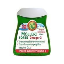 Product thumb mollers forte omega3 60caps