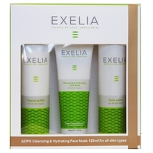 Product thumb exelia cleansing milk kai lotion kai mask
