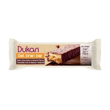 Product thumb dukan oat bran bar dark chocolate and almond flavor