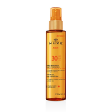 Product thumb nuxe sun tanning oil spf30