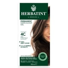 Product thumb herbatint permanent hair colour 4c ash chestnut 150ml