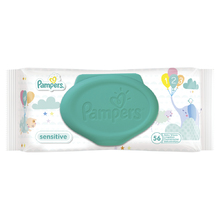 Product thumb pampers sensitive wipes 56